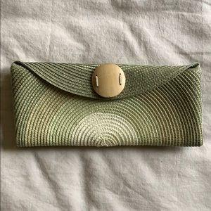Handbags - Green Ombré Clutch